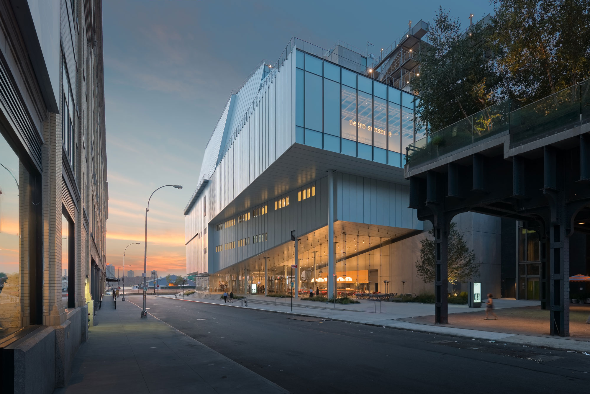 Whitney Museum Of American Art Downtown Expansion Heintges