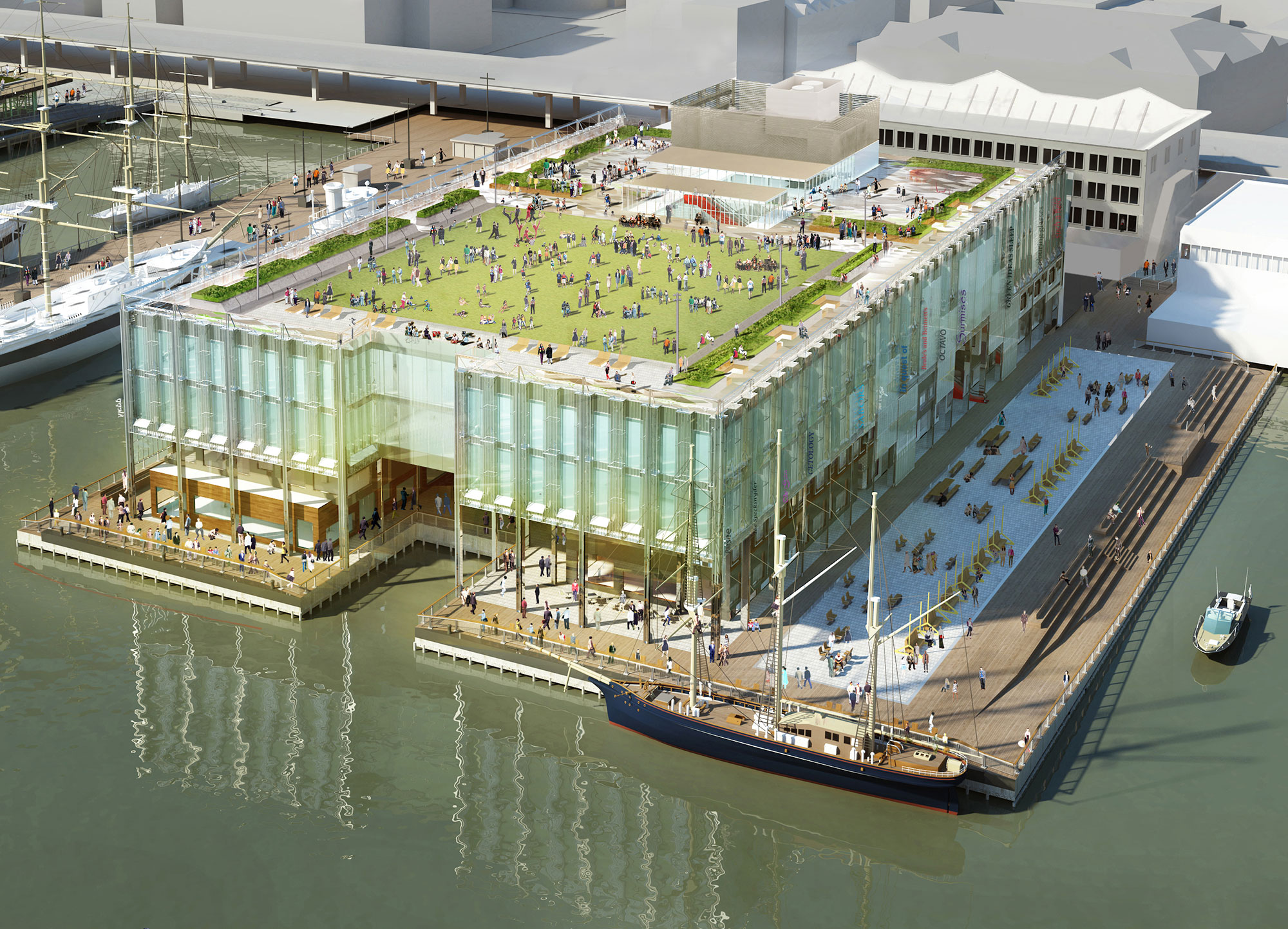 South Street Seaport Pier 17 Redevelopment Heintges