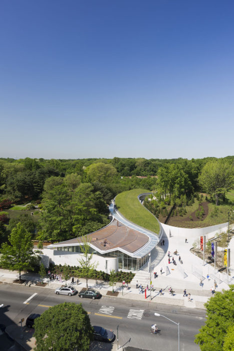 Brooklyn Botanic Gardens Visitor Center
