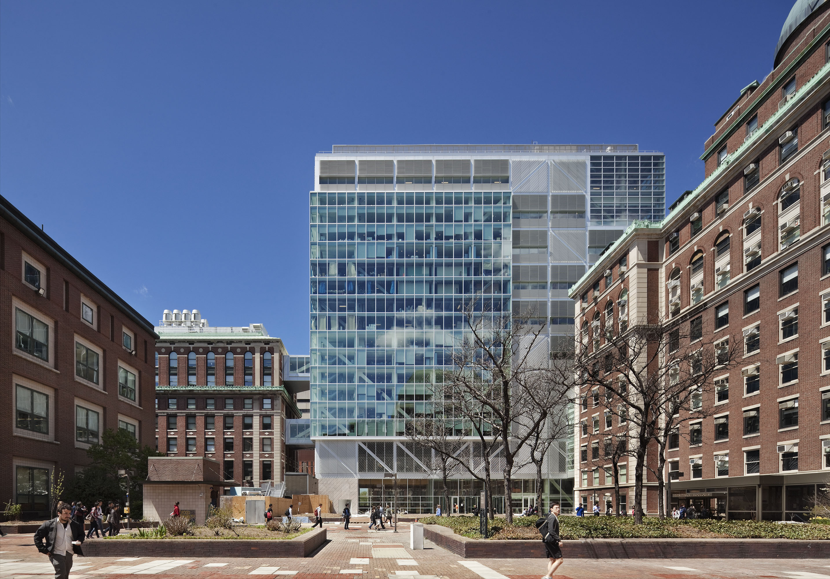 Columbia University Northwest Corner Science Building